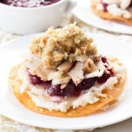 Thanksgiving Leftovers Tostadas | cakenknife.com