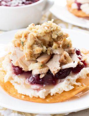 Thanksgiving Leftovers Tostadas | cakenknife.com