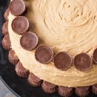 Peanut Butter Cup Overload Cake Recipe | cakenknife.com