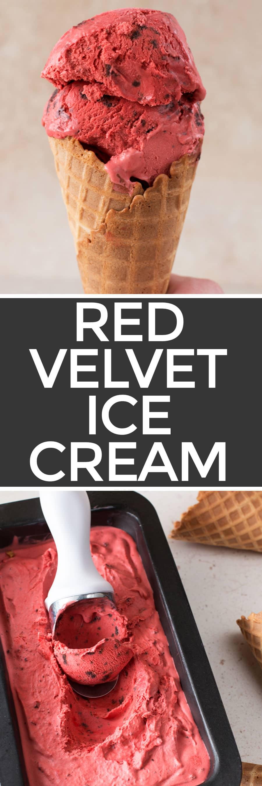 Red Velvet Ice Cream   cakenknife.com