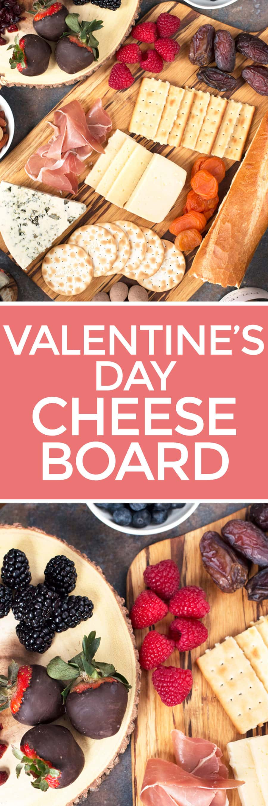Valentine's Day Cheese Board | cakenknife.com