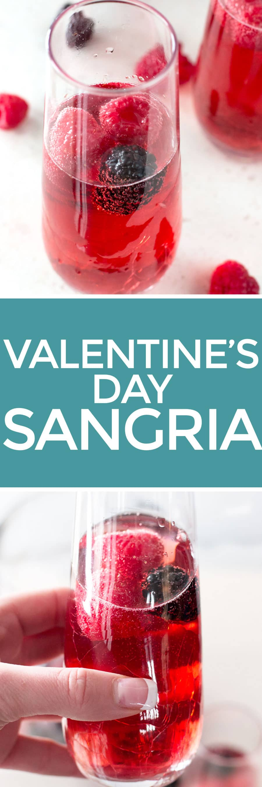 Valentine's Day Sangria   cakenknife.com