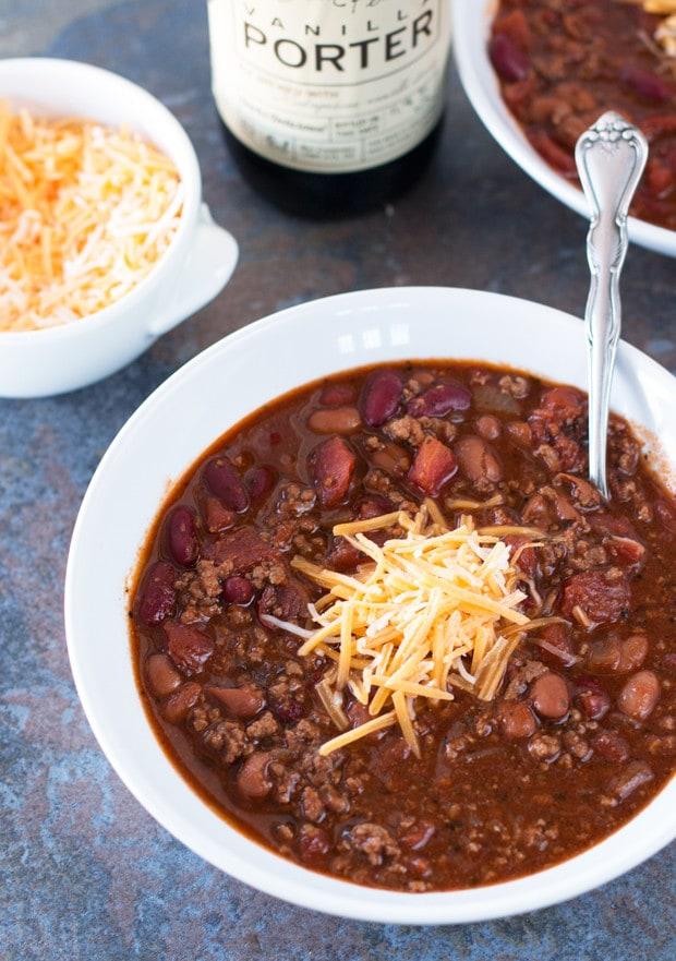 Black Porter Chili | cakenknife.com