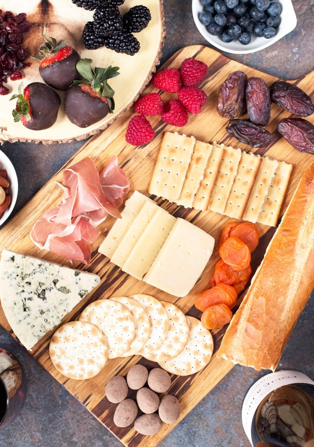 The Ultimate Valentine's Day Cheese Board | cakenknife.com