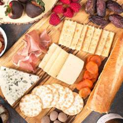 The Ultimate Valentine's Day Cheese Board   cakenknife.com