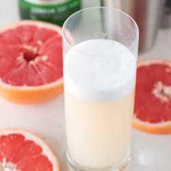 Grapefruit Gin Fizz   cakenknife.com