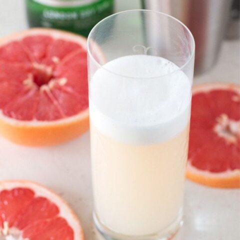 Grapefruit Gin Fizz
