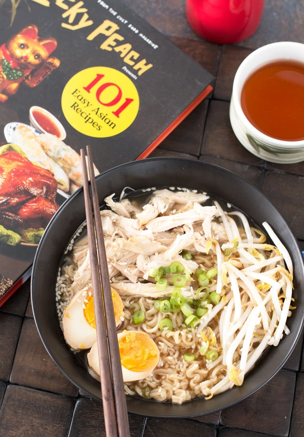 Rotisserie Chicken Ramen & Lucky Peach Cookbook Review | cakenknife.com