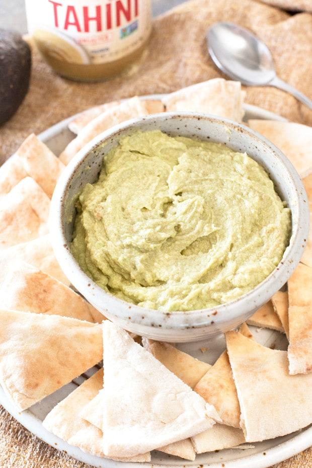Avocado Tahini Dip | cakenknife.com