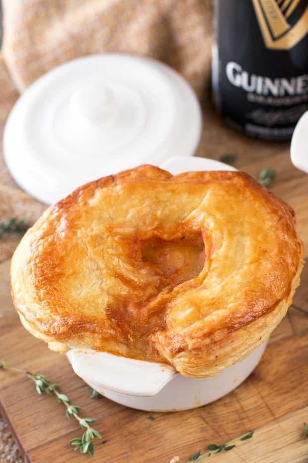 Guinness Beef Stew Pot Pies | cakenknife.com