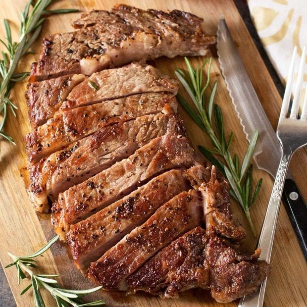The Perfect Ribeye Steak
