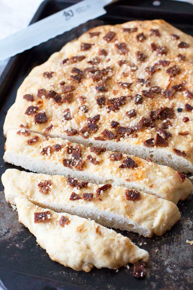 Bacon Parmesan Quick Bread | cakenknife.com