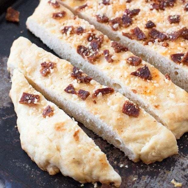 Bacon Parmesan Quick Bread | cakenknife.com