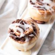 Mini Nutella Cinnamon Rolls | cakenknife.com