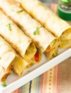 Breakfast Taquitos | cakenknife.com