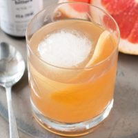 Sparkling Grapefruit Old Fashioned