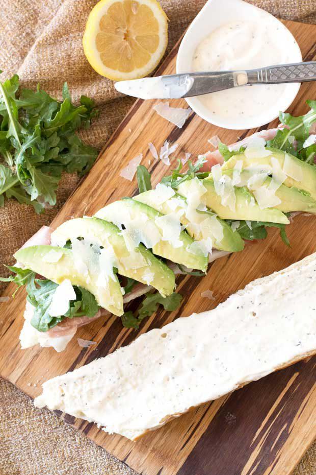 Rocket Sandwich | cakenknife.com
