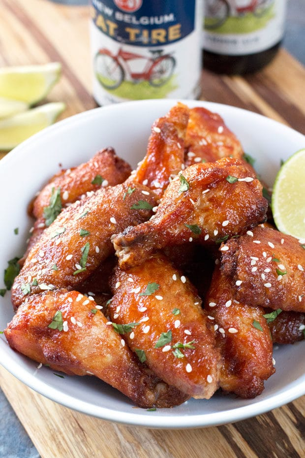 Grilled Honey Miso Wings Recipes — Dishmaps