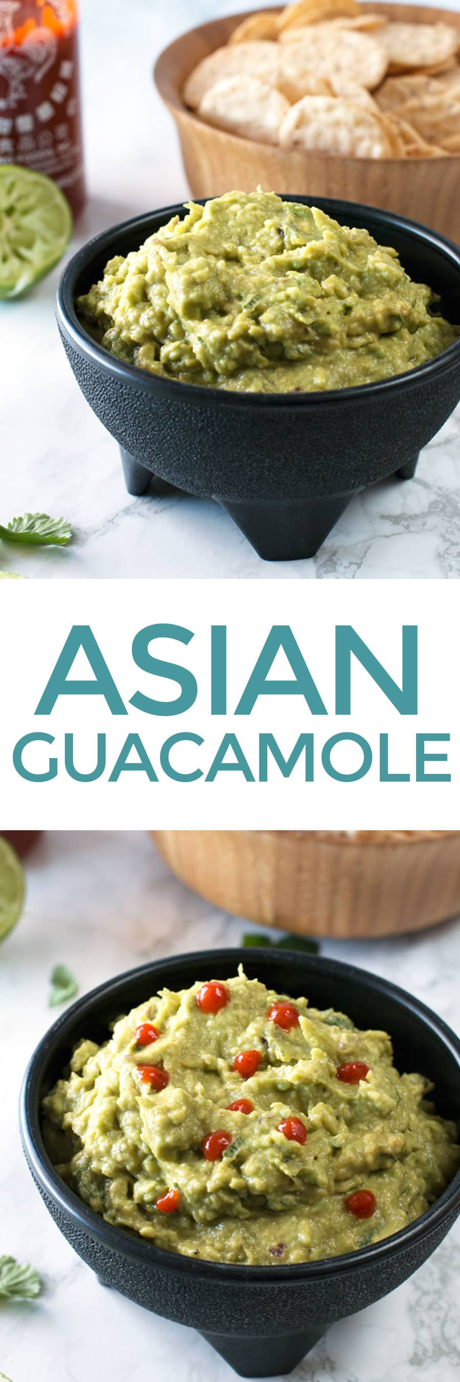 asian guacamole | cakenknife.com