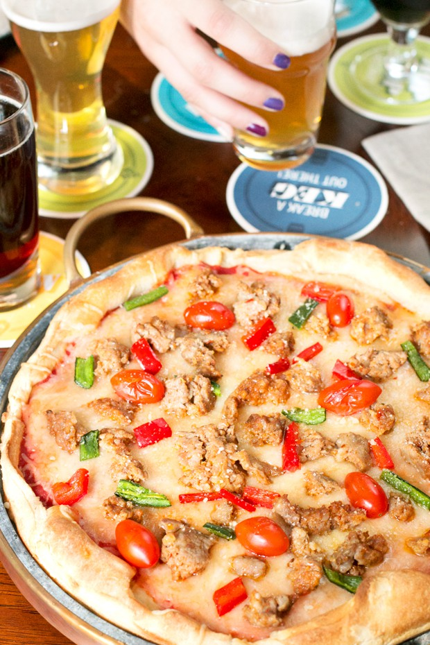 Beer Tasting Pizza Party | cakenknife.com