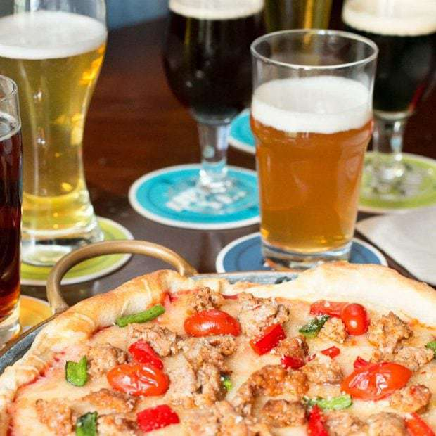 Beer Tasting Pizza Party