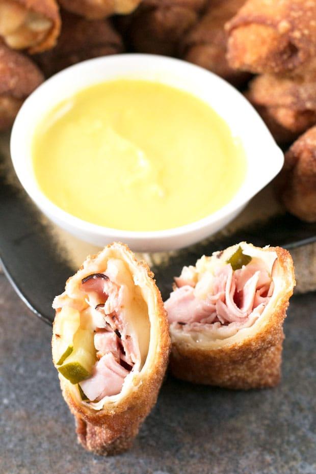 Cuban Egg Rolls | cakenknife.com