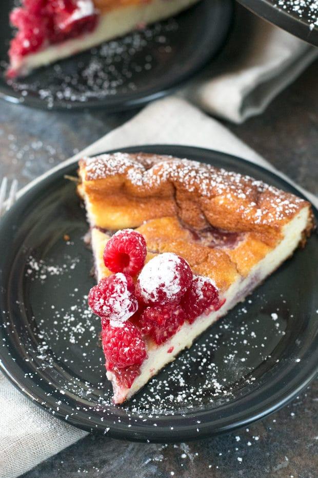 Raspberry Lemon Ricotta Cheesecake | cakenknife.com