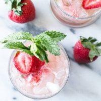 Strawberry Mint Julep