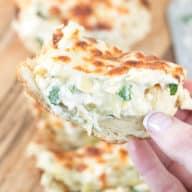 Chicken Spinach & Artichoke Dip French Bread | cakenknife.com