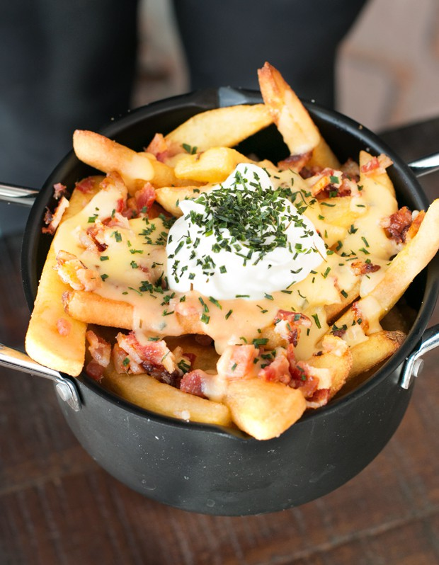 Loaded Baked Potato Fries | cakenknife.com