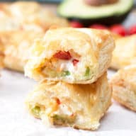 Avocado Cream Cheese Turnovers | cakenknife.com