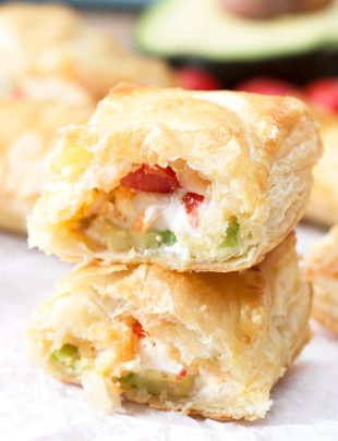 Avocado Cream Cheese Turnovers | cakenknife.com