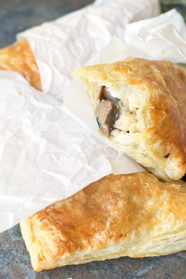 Black Pepper Steak Hand Pies | cakenknife.com