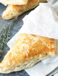 Black Pepper Steak Hand Pies | cakenknife.com