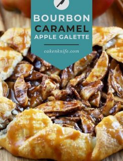 Bourbon Caramel Apple Galette Pinterest Picture