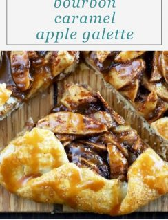 Bourbon Caramel Apple Galette Pinterest Image