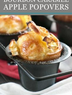 Bourbon Caramel Apple Popovers Pinterest Picture
