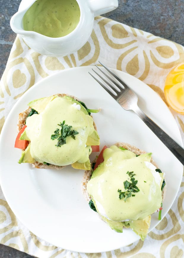 California-Style Eggs Benedict | cakenknife.com