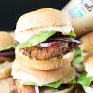 Chicken Shawarma Sliders with Sabra Spreads! | cakenknife.com