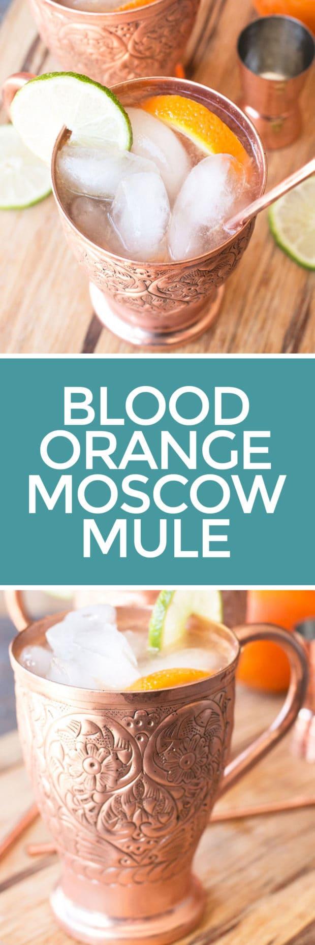 Blood Orange Moscow Mule | cakenknife.com