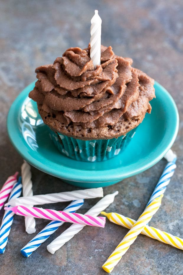 Chocolate Stout Cupcakes with Chocolate Bourbon Frosting | cakenknife.com