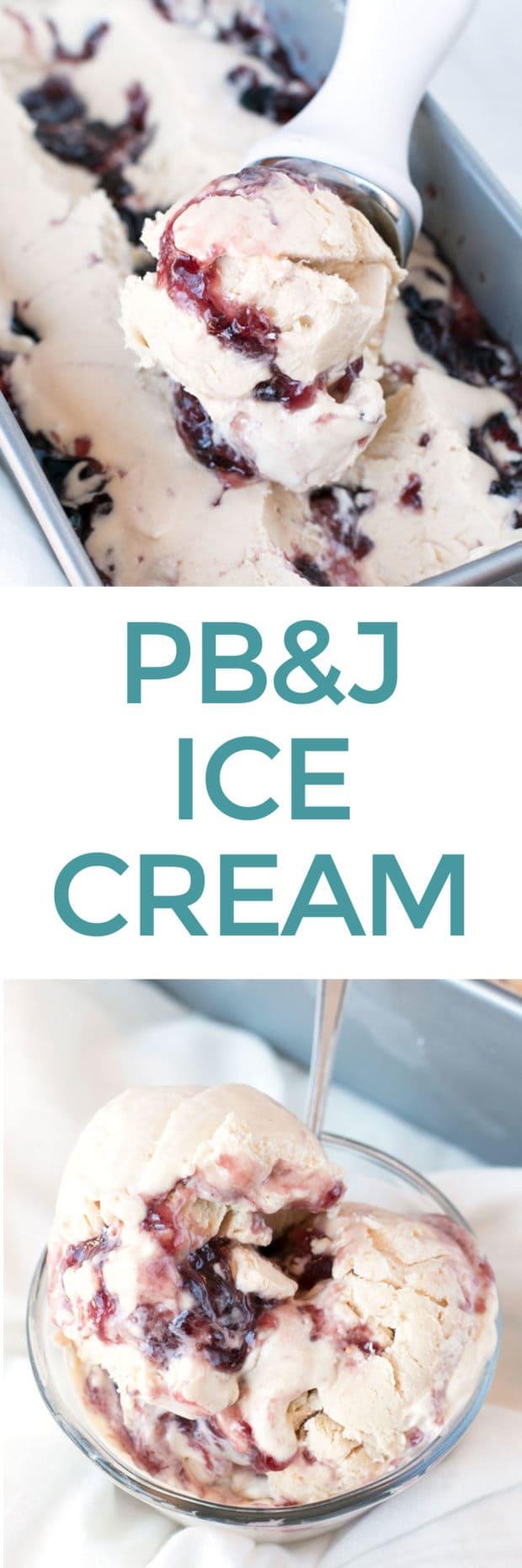 PB&J Ice Cream | cakenknife.com