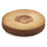 Sur La Table Wood Slice Serving Board