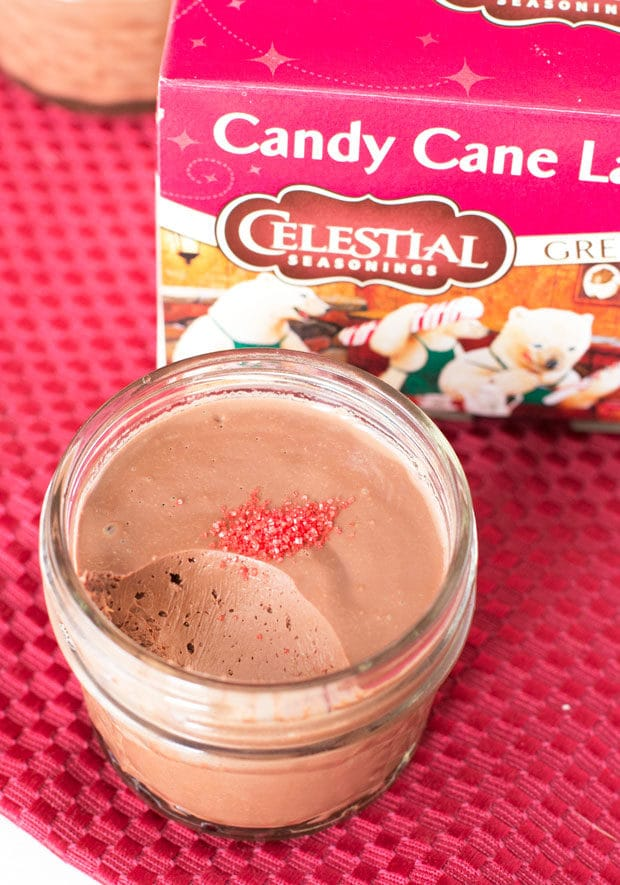 Chocolate Peppermint Pots de Creme | cakenknife.com