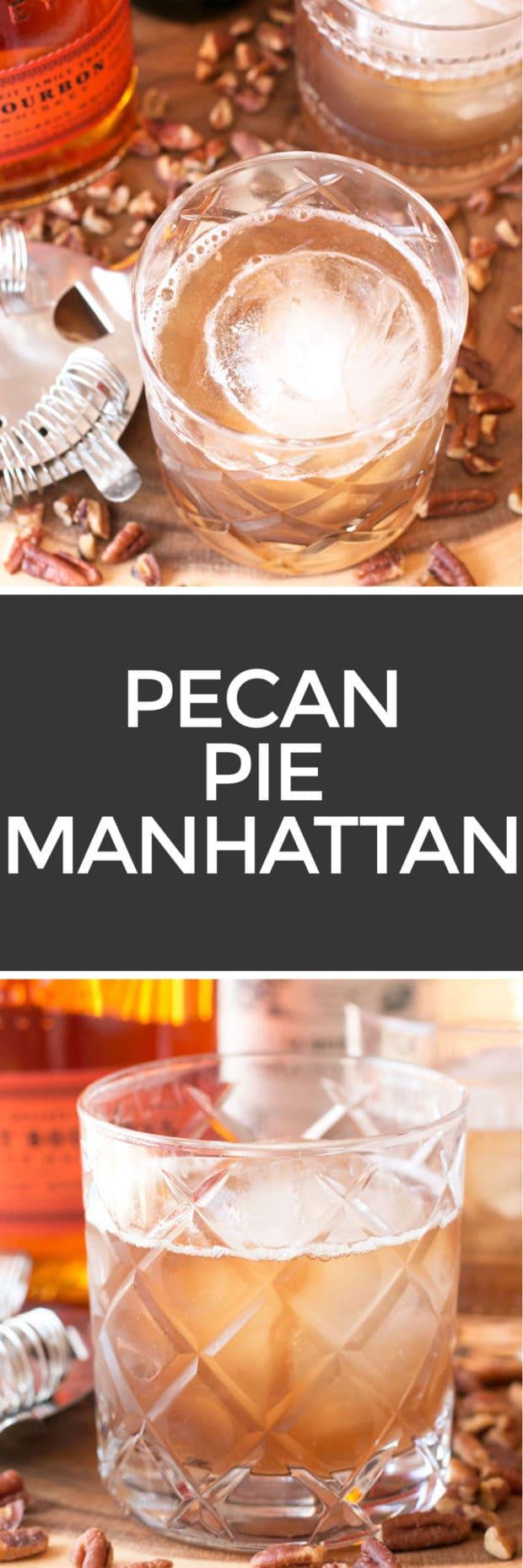 Pecan Pie Manhattan | cakenknife.com