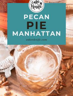 Pecan Pie Manhattan Pinterest image