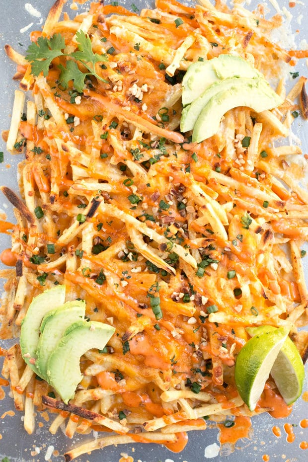 Thai Street Cart Fries | cakenknife.com