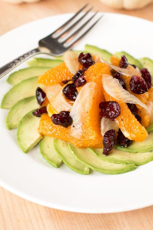 Avocado Fennel Salad   cakenknife.com
