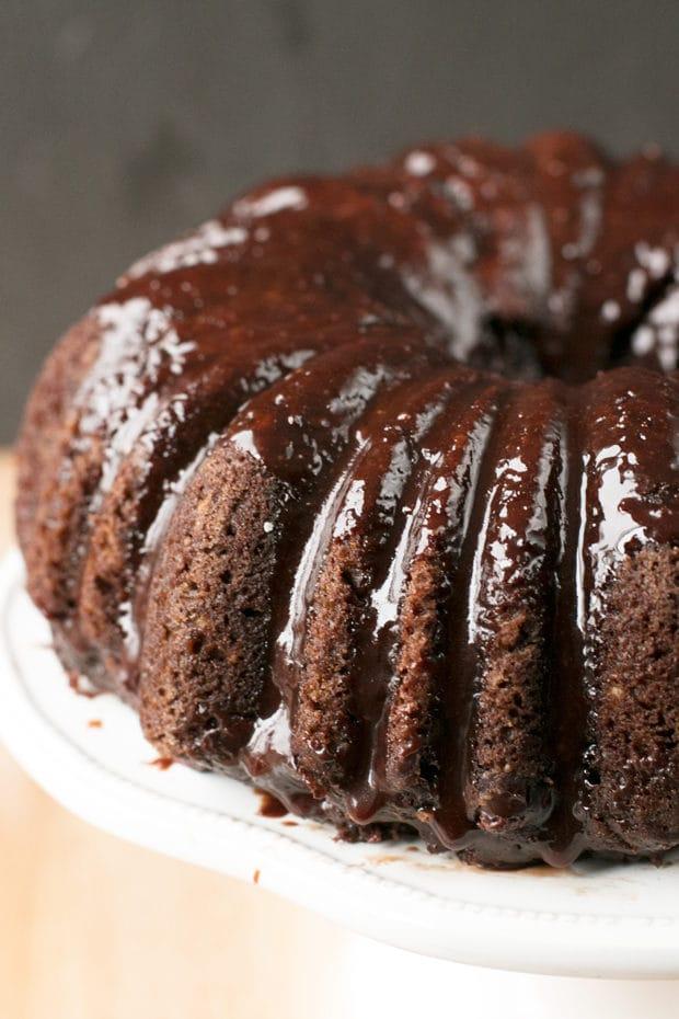 Dark Chocolate Chip Avocado Cake   cakenknife.com