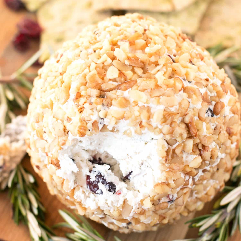 Cranberry Walnut Goat Cheese Ball – Cake 'n Knife